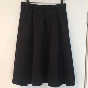 Windsor Black Poofy High Waisted Skirt Size L